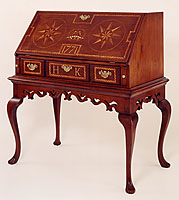 Chester County Inlaid Desk