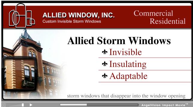 allied windows video