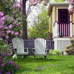 Old House Exteriors and Landscaping