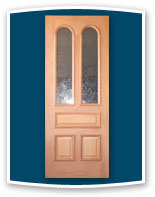 Vintage Door designs are only a starting point. All designs are available as insulating exterior pre-hung door units with energy efficient Low E glass.