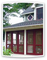 Traditional 3 Season Porch Panels