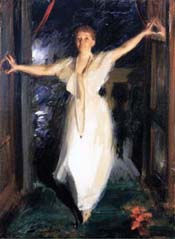 """Mrs. Gardner in Venice,"" an 1894 painting by Anders Zorn."
