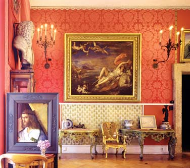 The Titian Room houses masterworks by the Renaissance artist Bellini.