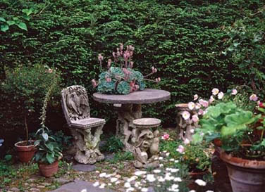 Garden Faux Bois