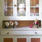 The original built-in butler's pantry provides unique storage.