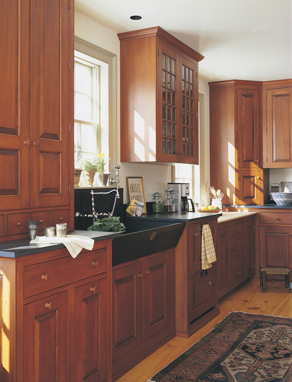 Kennebec company old house online old house online for Period kitchen cabinets