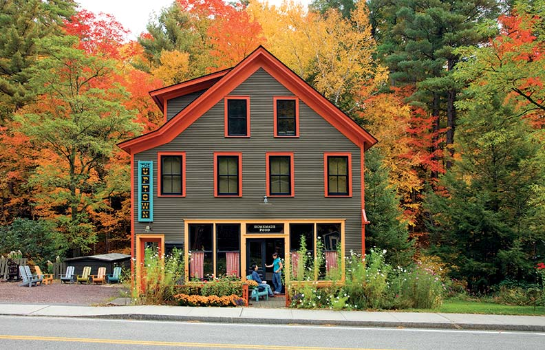 An adirondack general store becomes home old house for Adirondack style homes