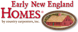 Early New England Homes by Country Carpenters Logo