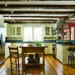 Douglas Gest re-creates the past in this new old house kitchen.
