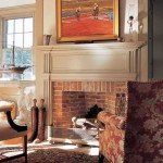 The mantel trim is the Federal style.