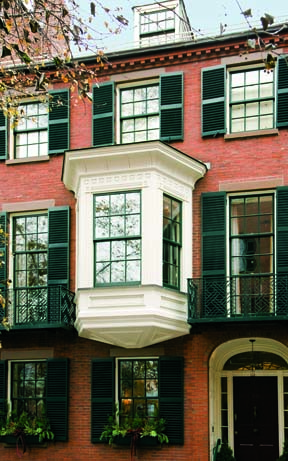 Re Creating A Boston Rowhouse Old House Online Old