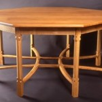 Reproduction Gimson dining table, Christopher Vickers