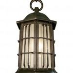The Gridiron lantern from Urban Archaeology marries Tudor good looks with explosion-proof styling.