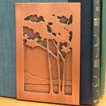 Tree-design copper bookend,  James Mattson