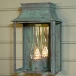 period lighting fixtures blue lantern