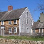 The Stephen Bryant House is a classic two-story, five bay Saltbox of 1703.  The small original house dates to the late 1600's.