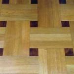 White Oak & Walnut Basketweave - Tallon Lumber