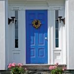 Greek Revival entryway