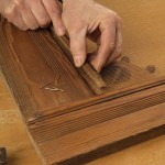 Attach molding pieces