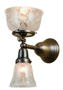 Craftsman Series sconce from Meyda