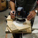 Cutting the balusters