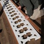 Assembling the balustrade