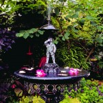 An antique Fiske fountain.
