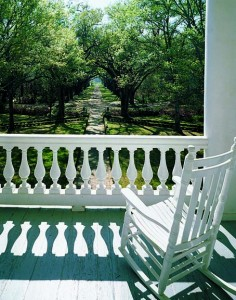 Classical porch balustrade