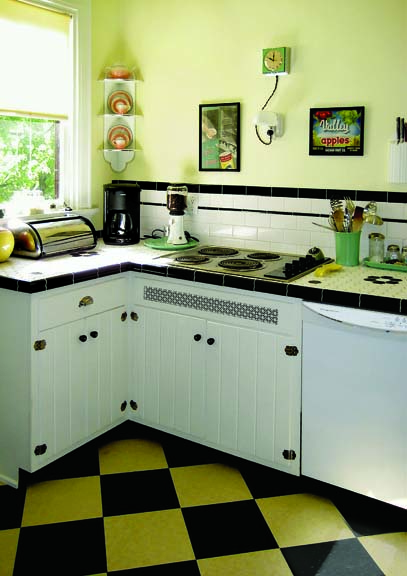 Photo Gallery Checkerboard Kitchen Floors Old House