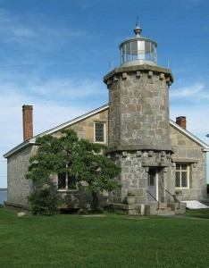 The Stonington light was active until 1889; it now houses the Old Lighthouse Museum.