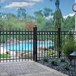 Ultra Aluminum Ornamental Fence and Gate 72 dpi