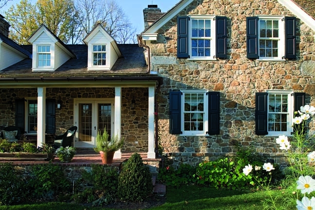 Pennsylvania dutch farmhouse old house online old for Pennsylvania stone farmhouses