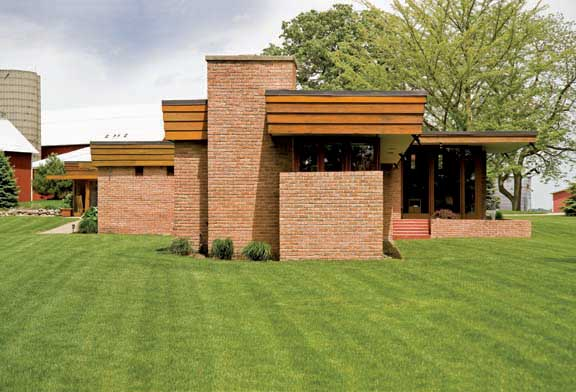Restoring A Frank Lloyd Wright Farmhouse Old House Online