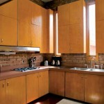 The commodious kitchen is typical of Wright's Usonian designs.