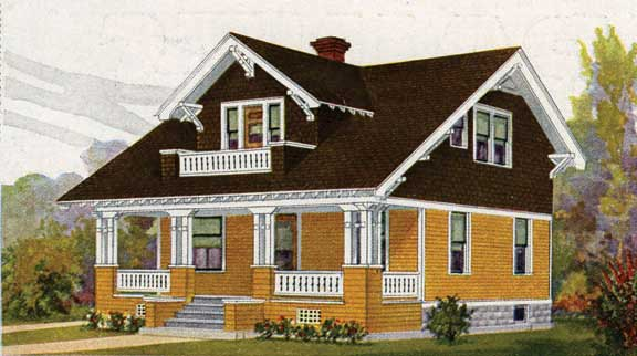 Paint colors for sears houses old house online for Elegant home designs