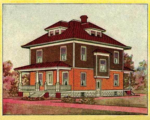 Paint Colors For Sears Houses Old House Online