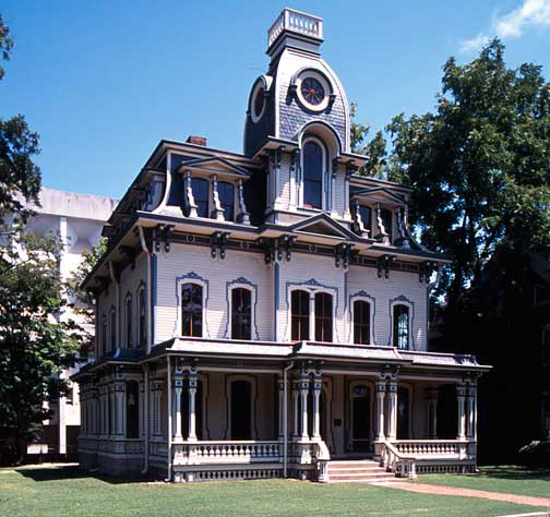 The Mania For Mansard Roofs Old House Online Old House