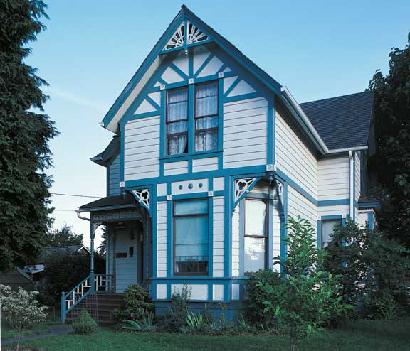 Study of stick style architecture and history old house for Online house architecture