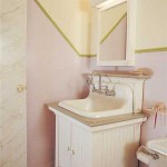 White enamel on boards evokes the country, as on this cupboard retrofitted for an old sink.