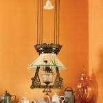 A ca. 1875 oil lamp rescued by Dave Vaughn.