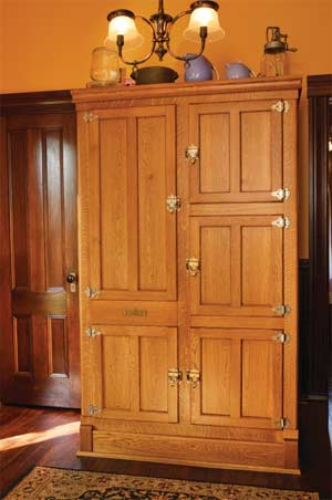reproduction kitchen in an old house old house online old house online. Black Bedroom Furniture Sets. Home Design Ideas