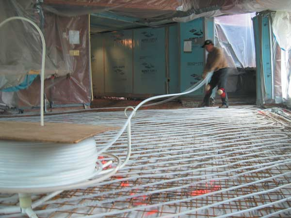 A Look At Radiant Heating Systems Old House Online Old