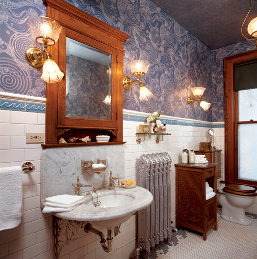 9 inspiring old house bathrooms old house online old for Bathroom ideas old house