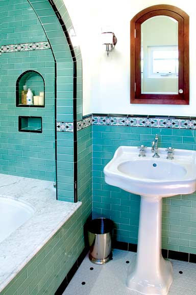 Ideas for 20th century baths old house online old for Bathrooms in spanish