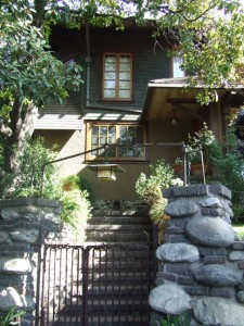 Among the houses Greene & Greene built in Pasadena is Charles Greene's modest 1902 home and studio.