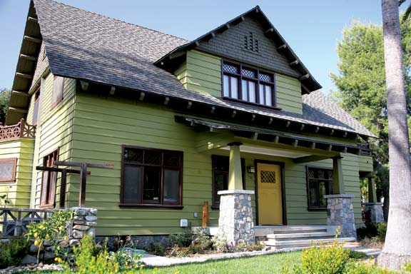 California Bungalow House