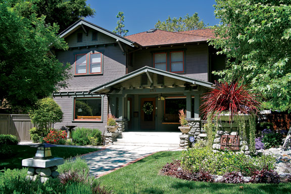 The eclectic architecture of claremont california old Two story craftsman bungalow
