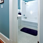 The original bathtub in an upstairs bathroom is curiously long—a quirk attributable, according to the house's lore, to the original homeowner's unusual height.