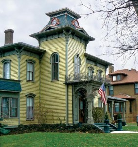 To restore the missing mansard on his Italianate house, homeowner Harry Came dreamed up an unconventional plan: Build a new one on the ground and lift it into position.