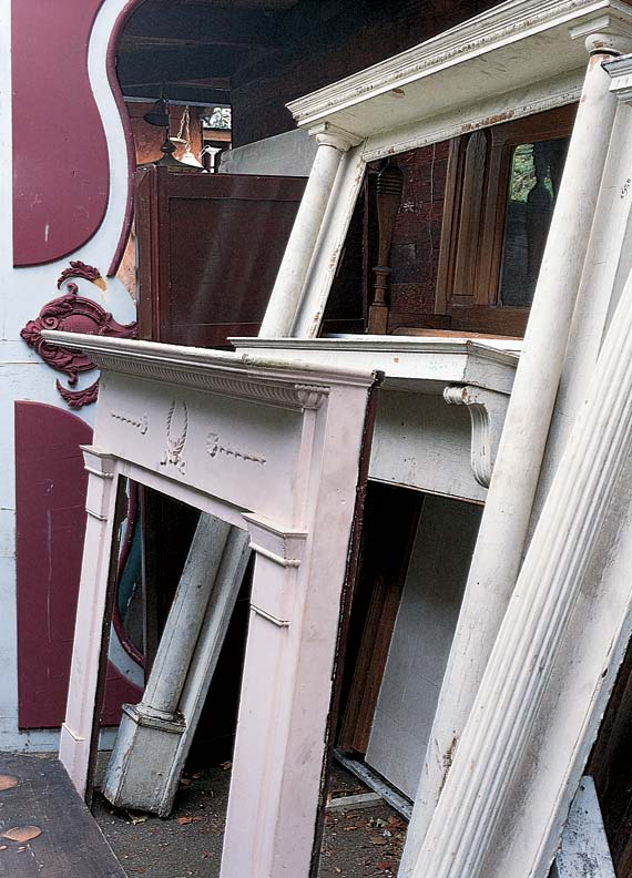 7 architectural salvage shopping tips - old house restoration